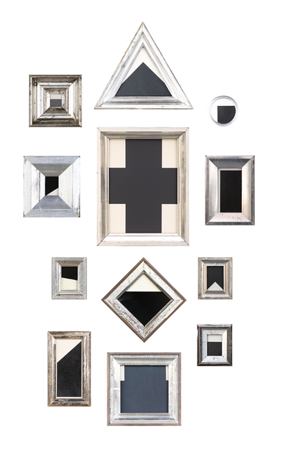 Jefferson Hayman, 'Geometric Forms', 2019, Photography, 12 Framed Photographs, The Schoolhouse Gallery