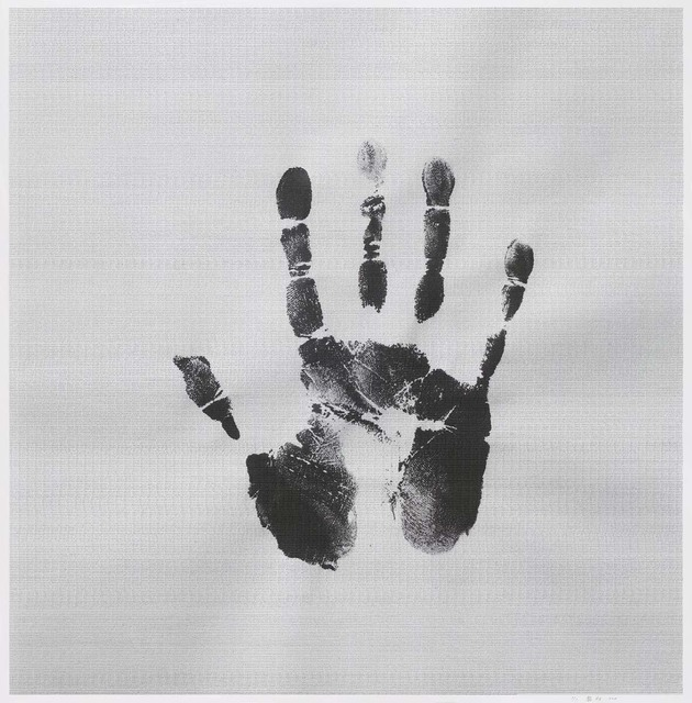 , 'Father 1927.12.03-2010.08.27, My Father's Handprint(Right)  ,' , A Thousand Plateaus Art Space