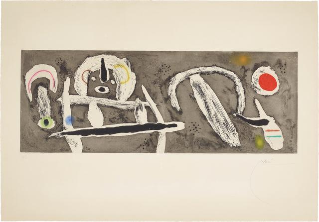 Joan Miró, 'Grand vent (Great Wind)', 1960, Phillips
