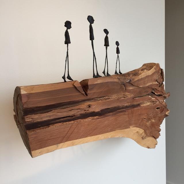 , 'Splintered History,' 2017, M.A. Doran Gallery