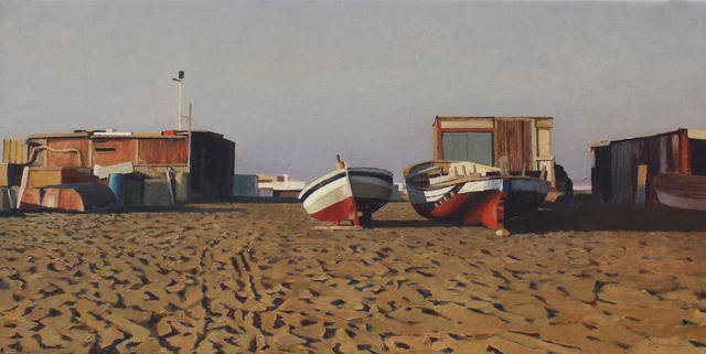 , 'Two Boats,' 2016, Sala Parés