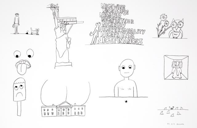 , 'Random thoughts about life 1,' 2018, Polígrafa Obra Gráfica