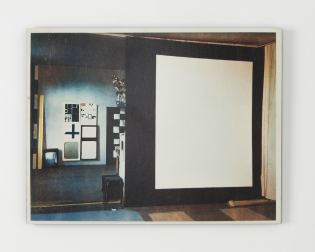 , 'Screen in Studio,' ca. 2001, Kristof De Clercq