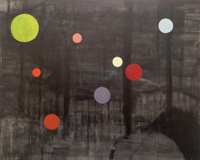 , 'Eight Brooklyn Birds,' 2016, Praxis