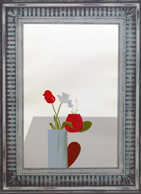 David Hockney, 'Picture of a Still Life Which has an Elaborate Silver Frame', 1965, Kenneth A. Friedman & Co.