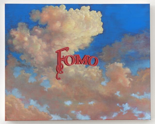 Wayne White, 'Fomo', 2019, Painting, Oil on canvas, Joshua Liner Gallery