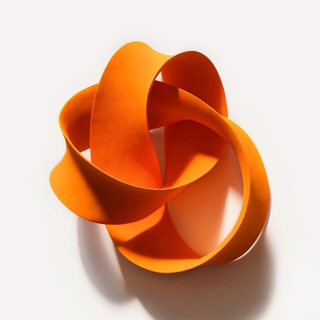 , 'Orange Cursive (Wall),' 2016, J. Lohmann Gallery