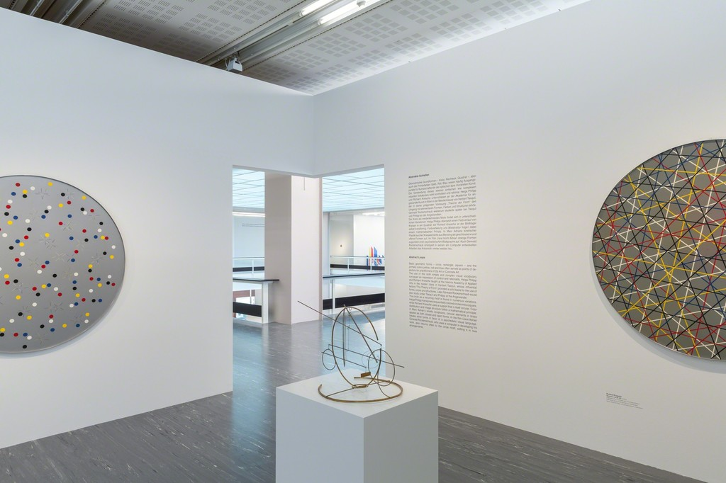 "Exhibition View ""Abstract Loop Austria"", Photo: © Belvedere, Vienna"