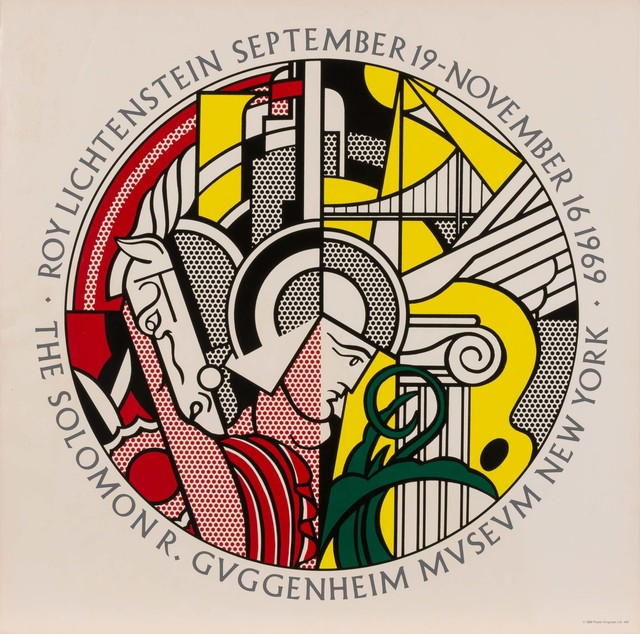 Roy Lichtenstein, 'The Solomon R. Guggenheim Museum Poster (Corlett III.25)', 1969, Print, Color screenprint on wove paper, Doyle
