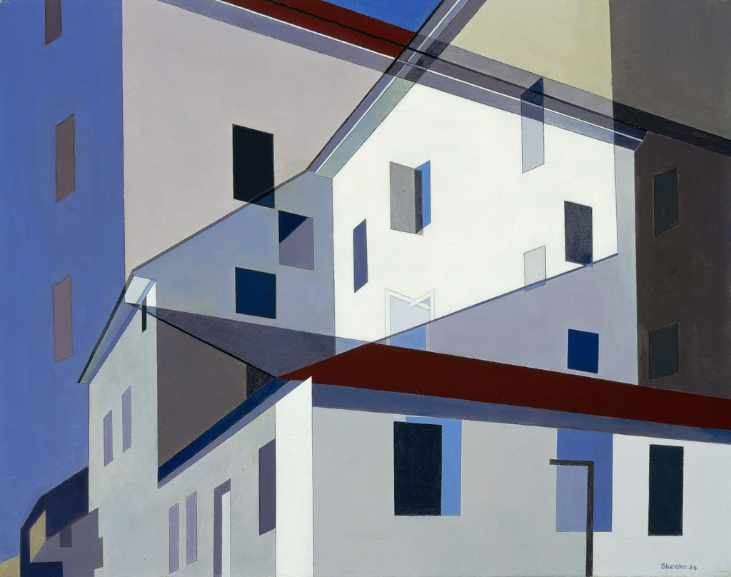 a history of precisionist art by charles sheeler in the united states Pa-019 charles sheeler (1883-1965) , united states of america, historical marker, usa , photographers, charles sheeler, precisionism.