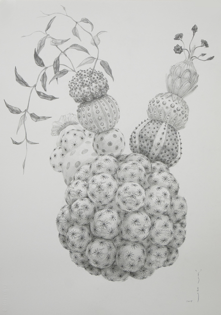 , 'Untitled I (Pencil drawing I),' 2015, JanKossen Contemporary