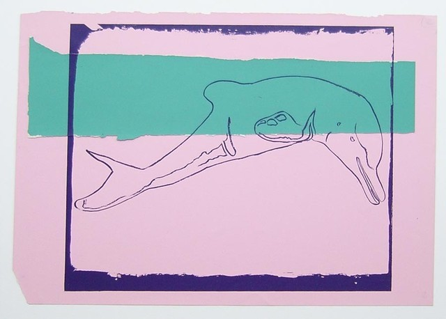 , 'Vanishing Animals -- La Plata River Dolphin (1),' 1986, Hamilton-Selway Fine Art
