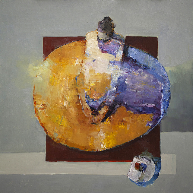 Danny McCaw, 'Possibilities II', 2019, Painting, Oil on board (framed), Sue Greenwood Fine Art