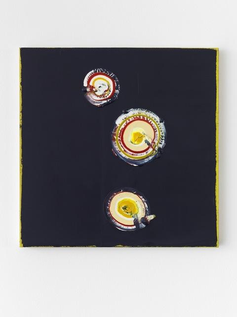 , '#981117 (Indigo II),' 2017, Anne Mosseri-Marlio Galerie