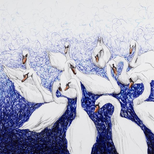 , 'I don't Draw on Sundays - 7646,' 2018, Beatriz Esguerra Art