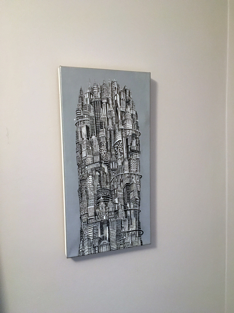 , 'Silver Tower,' 2014, Elisa Contemporary