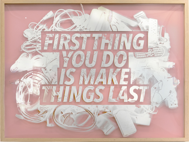 , 'First Things First,' 2017, Winsor Gallery