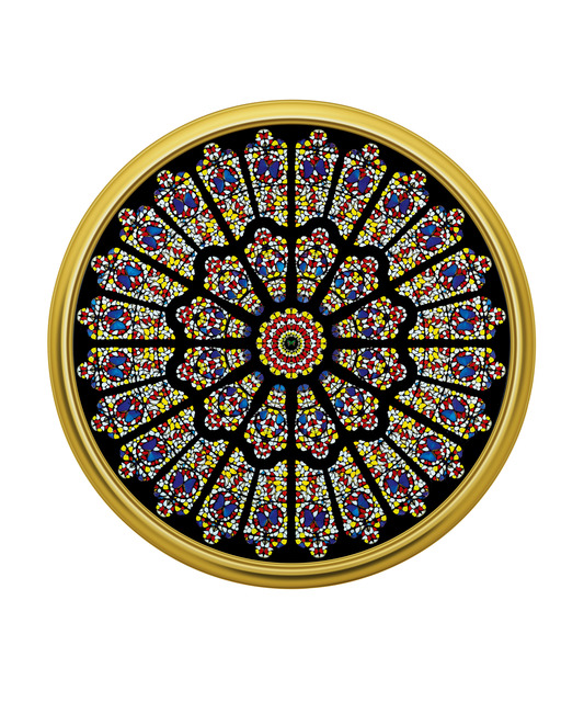 , 'The Rose Window, Durham Cathedral,' 2008, Gary Tatintsian Gallery