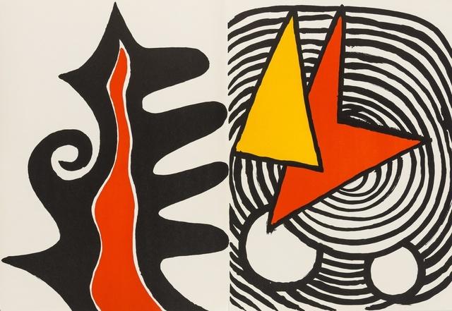 Alexander Calder, 'Derrière le Miroir No. 201', 1973, Forum Auctions