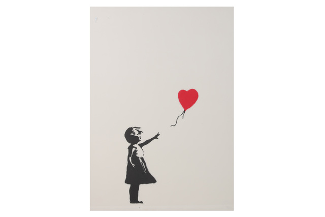 Banksy, 'Girl with Balloon', 2004, Chiswick Auctions