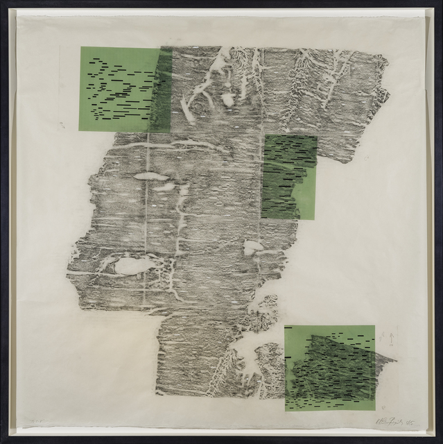 Maria Elena González, 'T2 5-8', 2015, Drawing, Collage or other Work on Paper, Graphite, gouache & inkjet on vellum on Japanese paper, Hirschl & Adler
