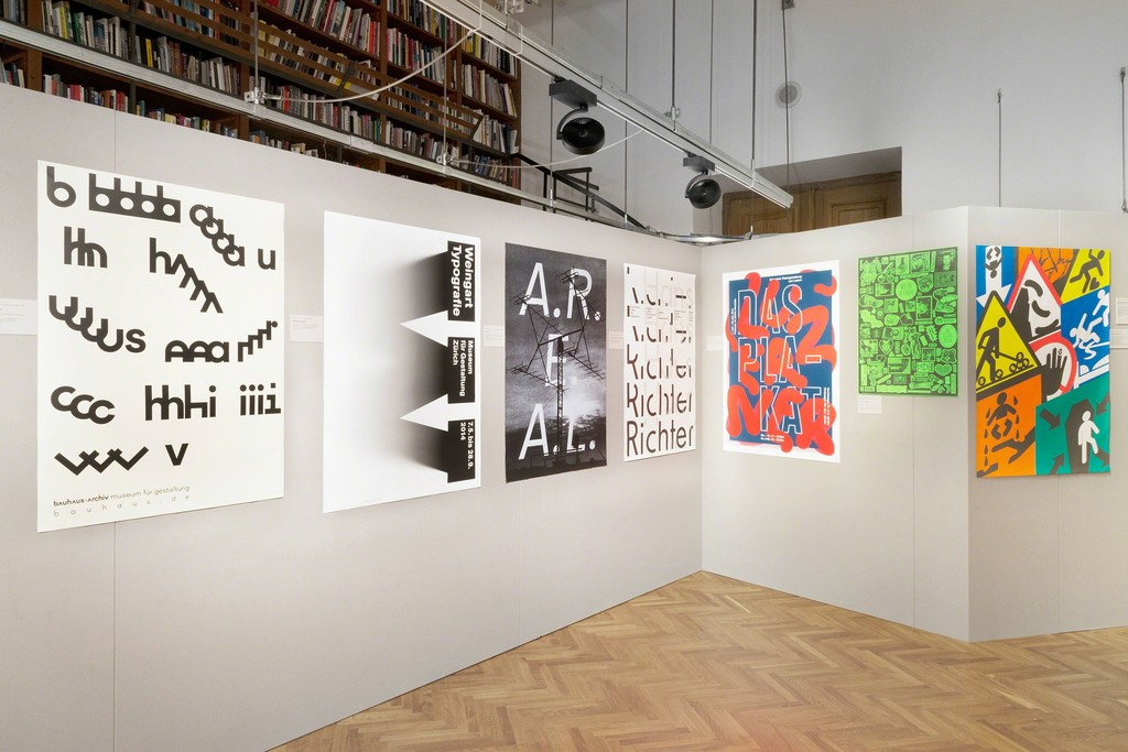 MAK Exhibition View, 2015, 100 BEST POSTERS 14: Germany Austria Switzerland, MAK Works on Paper Room