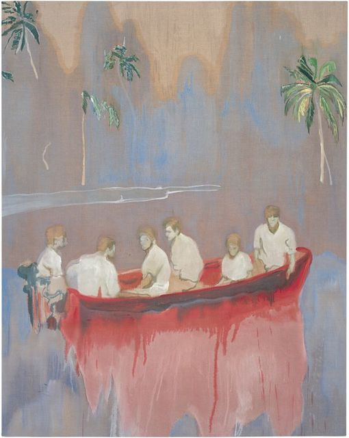 , 'Figures in red Boat,' 2005-2007, Louisiana Museum of Modern Art