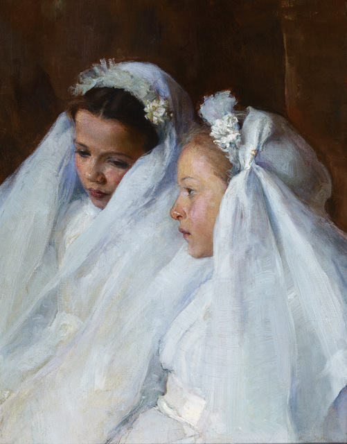 , 'First Communicants,' 1895, Avery Galleries