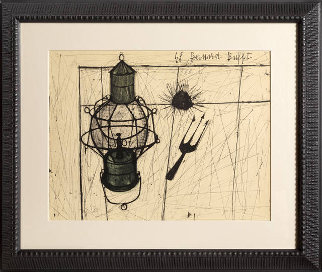 Bernard Buffet, 'Oursins et Lampe à Petrole ', 1960, RoGallery