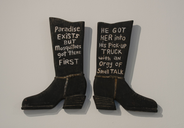 , 'Paradise Exists But... He Got Her into his Pick-Up Truck...,' 2014, Clark Gallery