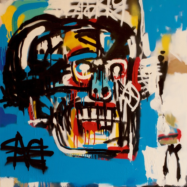 , 'Bill (After Jean Michel Basquiat),' 2017, Woodward Gallery