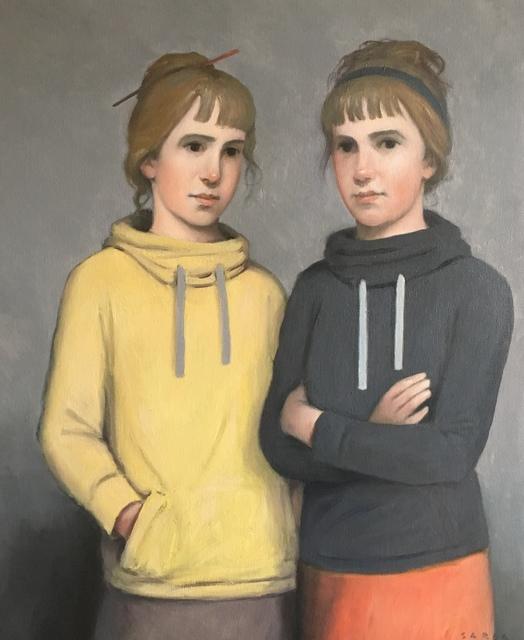 , 'Germanes,' 2017, Sala Parés