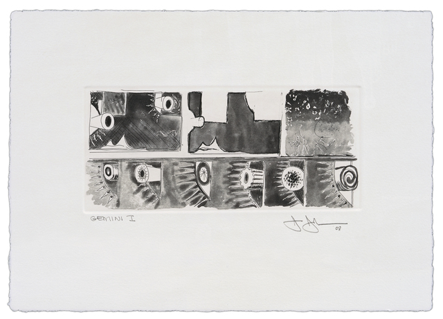 Jasper Johns, 'Untitled', 2008, Print, 1-color etching, Gemini G.E.L. at Joni Moisant Weyl