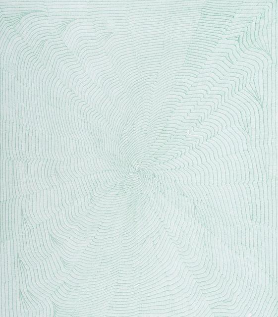 , 'Untitled in green,' 2014, Sabrina Amrani