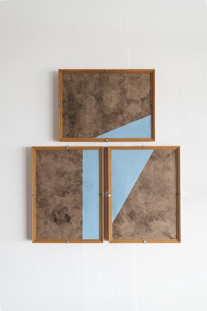 , 'Composiciones Azules No.09,' 2017, Josée Bienvenu