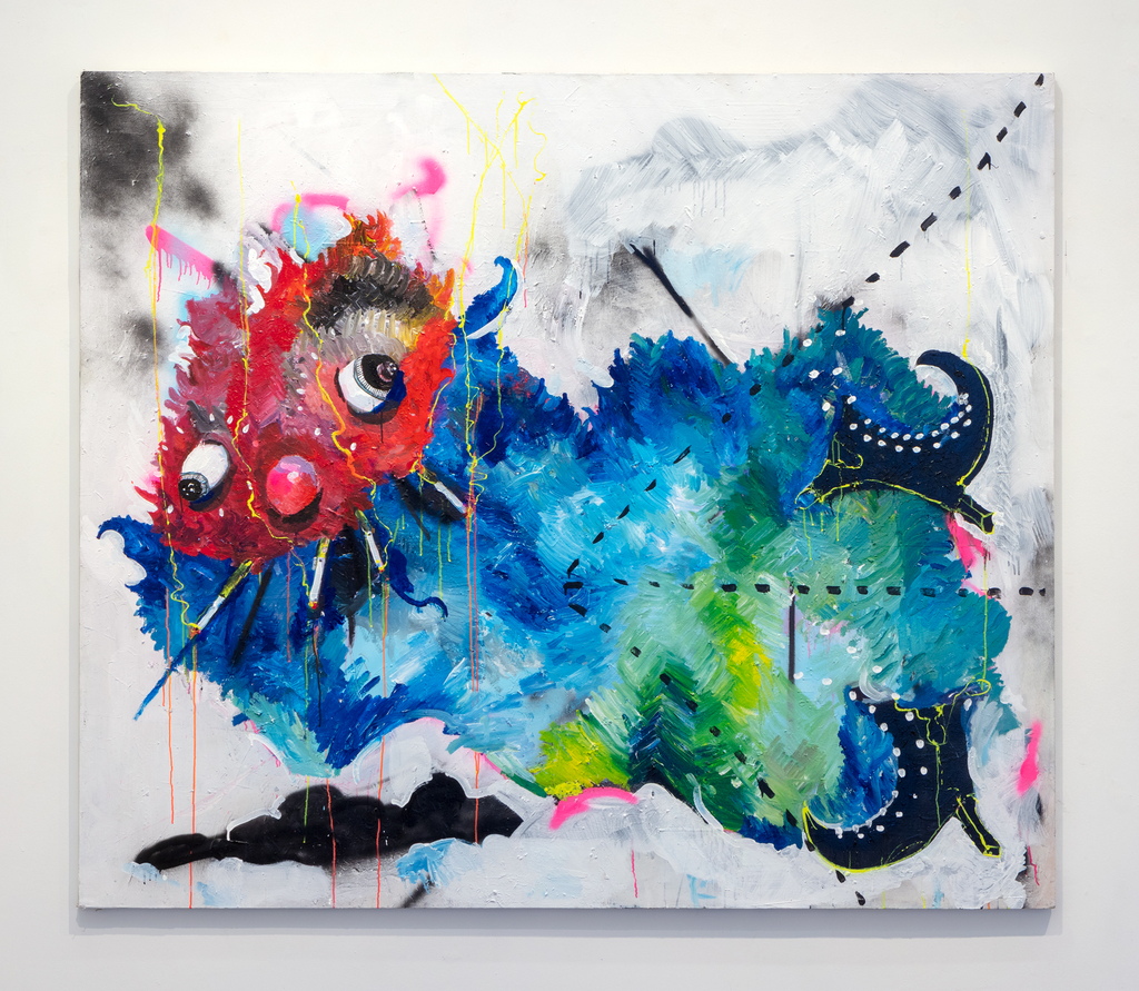 KESS InHouse Danny Ivan Abstract Rhino Wall Tapestry 68 x 80