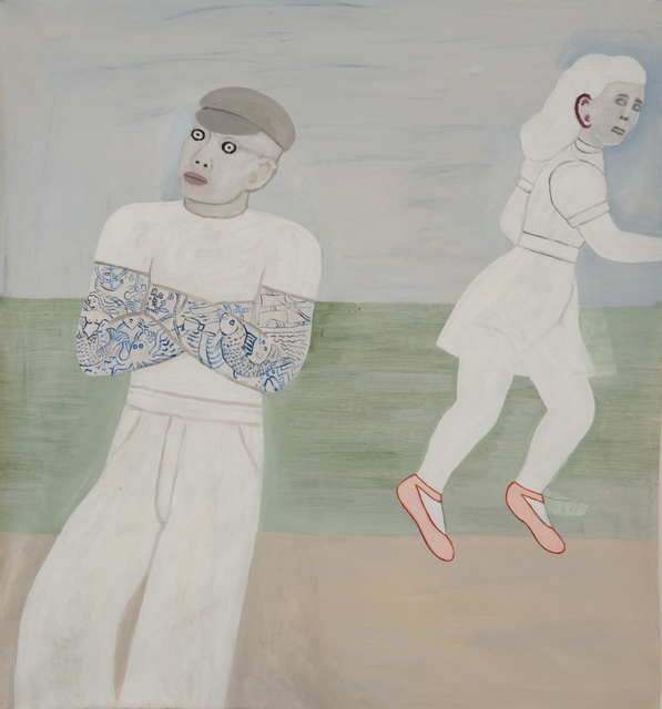 , 'Ghosts on the Strand,' 2016, James Harris Gallery