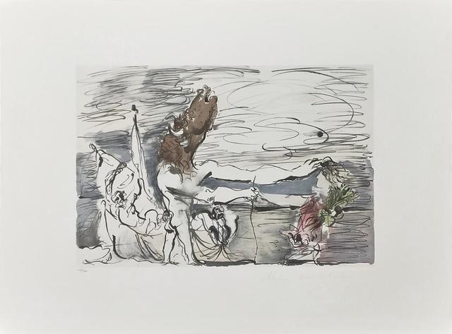 Pablo Picasso, 'MINOTAURE AVEUGLE CONDUIT PAR UNE PETITE FILLE', 1979-1982, Reproduction, LITHOGRAPH ON ARCHES PAPER, Gallery Art