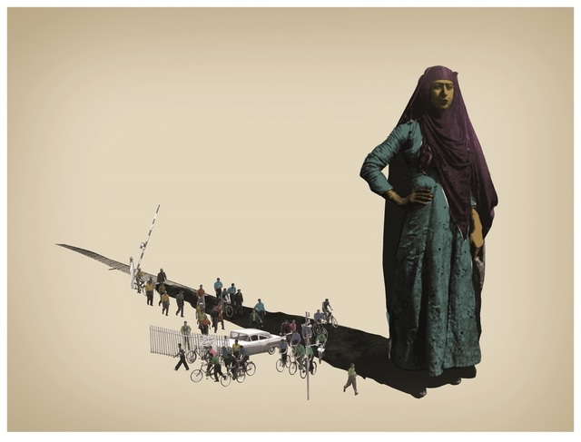 Amin Roshan, 'Shadow of Friend', 2013, Janet Rady Fine Art
