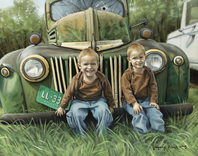 , 'Boys and Trucks,' 2016, Gallery 1261