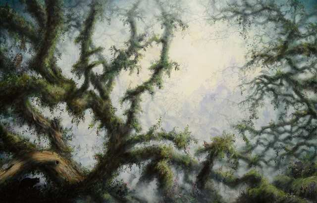Brian Mashburn, 'Garden', 2021, Painting, Oil on canvas, Haven Gallery