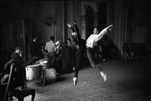""", 'Roland Petit """"The Swan Dive"""", Paris ,' 1955, Galerie Dumonteil"""