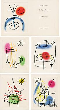 Joan Miró, 'La bague d'aurore (René Crevel) (Der Ringe der Morgenröte)', 1957, Galerie Boisseree