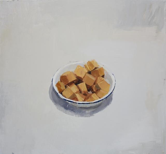 , 'cuenco con trozos de calabaza,' 2013, PontArte