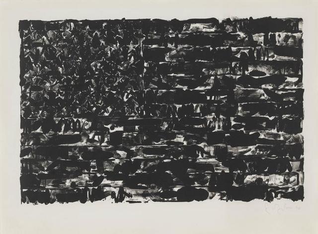 , 'Flag I,' 1960, Upsilon Gallery