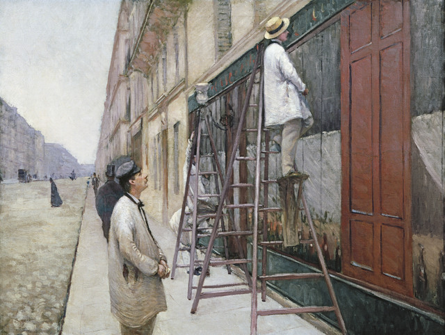 , 'Study for House Painters ,' 1877, Museo Thyssen-Bornemisza