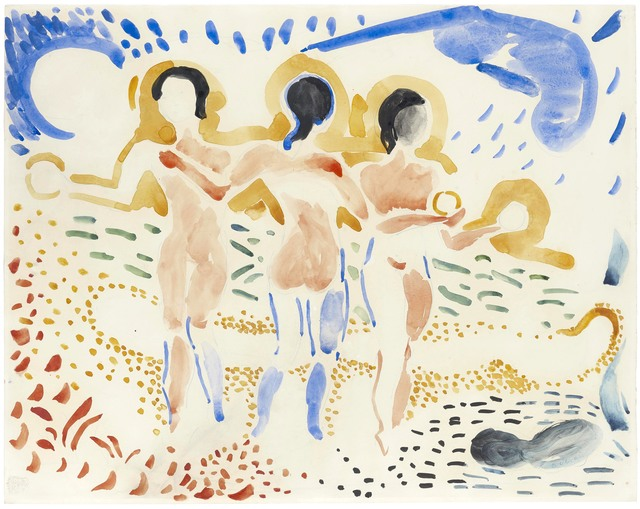 , 'Les trois Grâces,' ca. 1906, Stoppenbach & Delestre