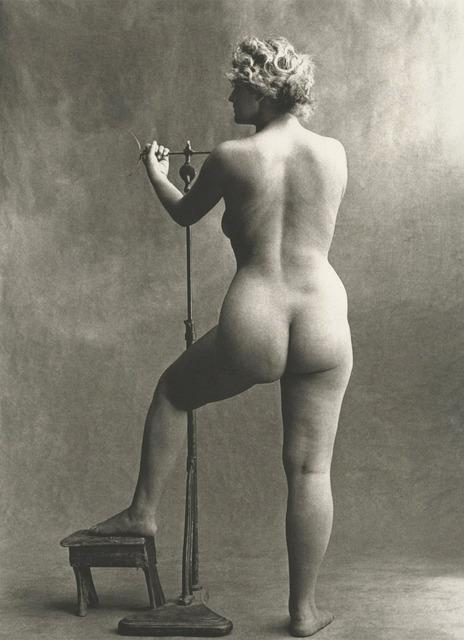 , 'Sculptor's Model, Paris,' 1950, Robert Klein Gallery