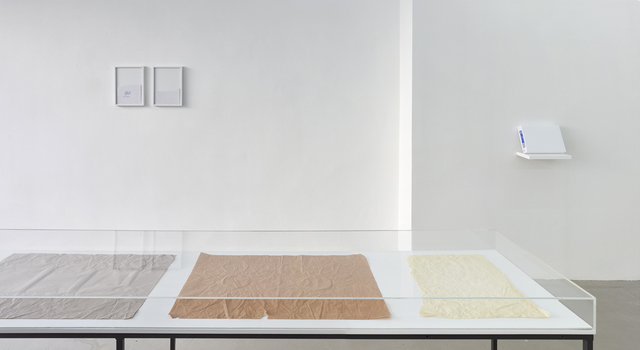 , 'Untitled (Drawing for One, Two, Five and Different Objects),' 2015, Kadel Willborn