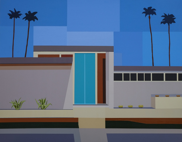 , 'Palm Springs House III,' 2017, Cynthia Corbett Gallery